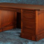 Greene & Greene Desk Design by Darrell Peart