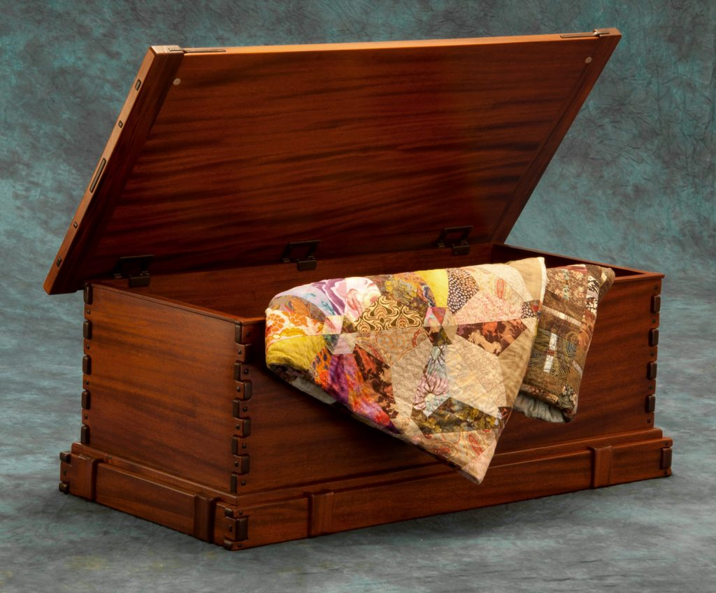 Greene & Greene Style Blanket Chest – Darrell Peart ...