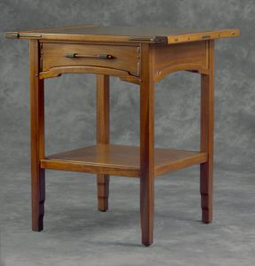 Aurora Nightstand in the Greene & greene style