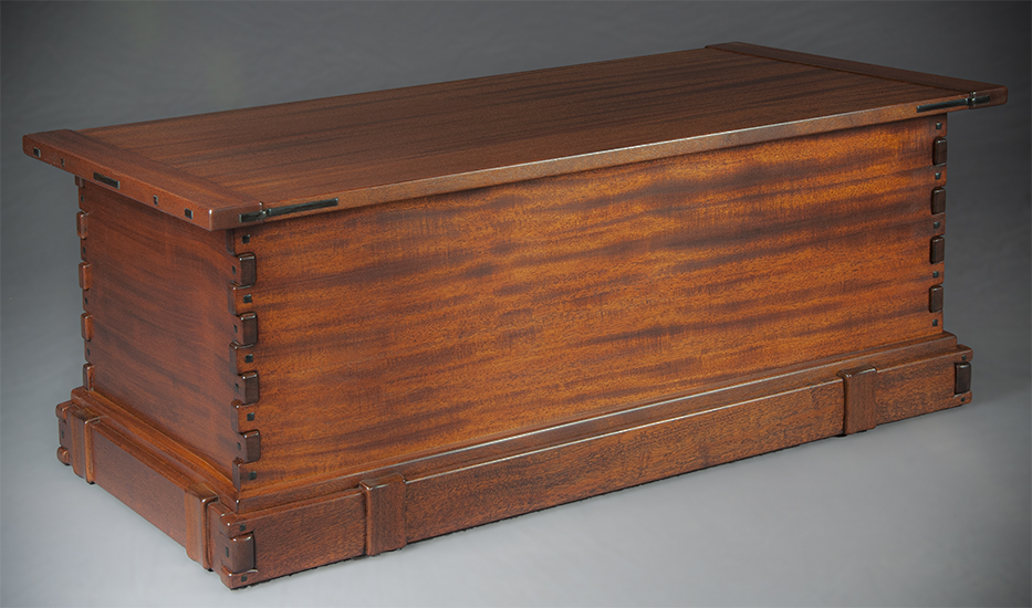 Greene and Greene Blanket Chest