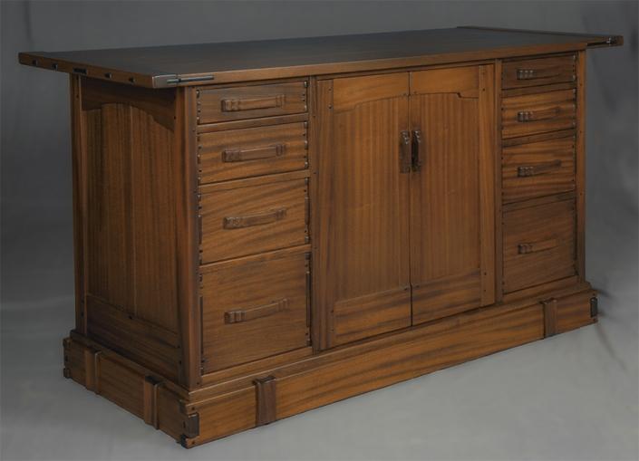 Aurora Media Cabinet