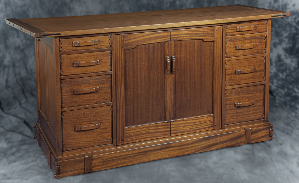 G&G Stereo Cabinet